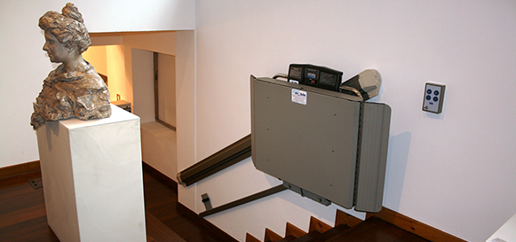 Home Elevators Residential X3 INCLINED PLATFORM LIFT