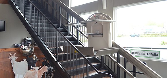 Home Elevators Residential X2 INCLINED PLATFORM LIFT